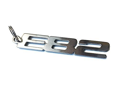 E82 emblème porte-clés en acier inoxydable de haute qualité Coupé 330i 328i 325i 323i 32i0 318i XI GTR C SL D TD