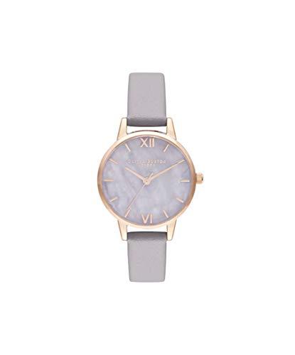 Olivia Burton Quarz Uhr mit Leder Armband OB16SP17