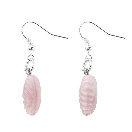 Murano Glass Pink Murano Glass Bead Earrings, Murano Glass Earrings, Murano Pearls