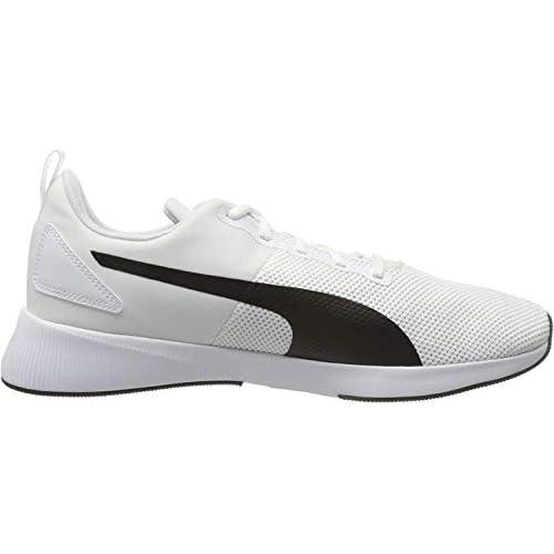 Puma Flyer Runner, Scarpe da Corsa Unisex-Adulto, Bianco White Black 24, 39 EU