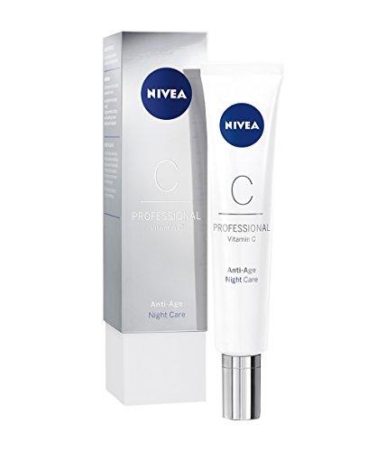 NIVEA PROFESSIONAL Vitamin C Nachtpflege, Creme Nachtcreme fürs Gesicht, Anti-Aging Pflege gegen...