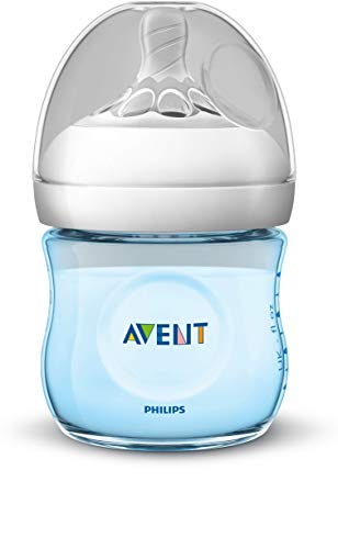 Philips SCF032/17 Avent Biberon Natural Anti-Colica, 125 ml, Azzurro