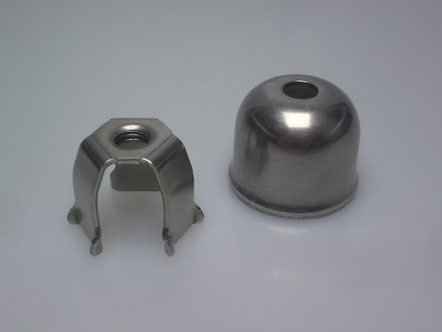 10 Pezzi Set Adattatore con Fix-Clip 21 mm Spikes-Spider 1