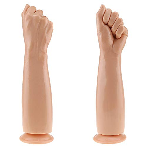 13.8inch Realisric Arm Fisting -Ðîl`dɔ, with Strong Suction Cup Super Stimulating S&M-Toy...