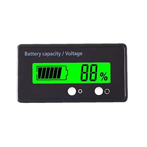 shentaotao Batterie-kapazität Detector Blei-säure-Batterie-statusanzeige Lithium-Batterie-kapazität Tester 12v Spannungs-messinstrument Für Fahrzeug
