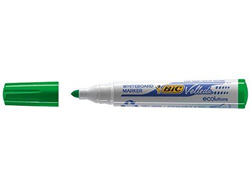 BIC 904940 - Bic Velleda Whiteboard Marker 1701 Groen 904940 (PK12)