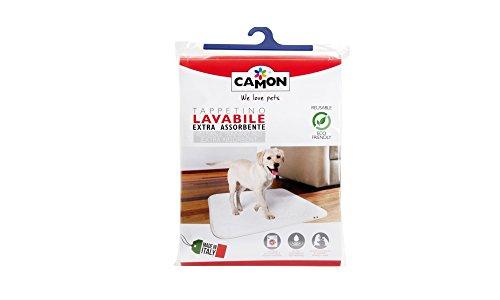 Tappetini Igienici Per Cani Tappetino Extra Assorbente Riutilizzabile Lavabile A Mano O Lavatrice Asciuga Rapidamente Fondo Impermeabile Ecologico 1 Pz Cm.70x145