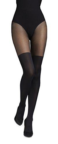 Marilyn blickdichte Strumpfhose, 60 Denier, Größe 40/42 (M/L), Farbe Braun (chocolate)