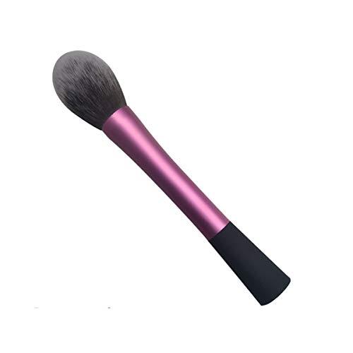 Greatangle Pinceaux de Maquillage portatifs Pinceau Professionnel Blush Brosse cosmétique Confortable Violet et Noir