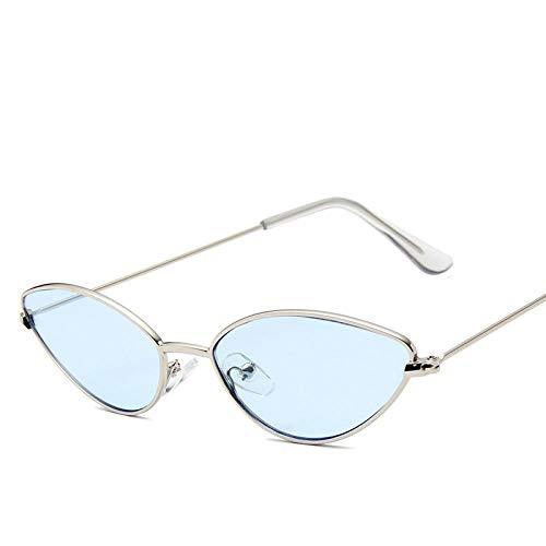Gafas De Sol con Montura De Metal Gafas De Sol Cuadradas para Mujer Gafas De Sol con Montura Sexy Y Pequeña Y Pequeña Gafas De Sol Rojas con Montura Pequeña 05