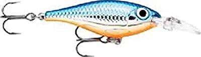 Rapala Ultra Light Shad 04 Fishing lure, 1.5-Inch, Silver Blue