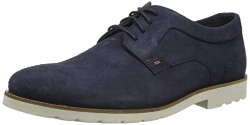 Rockport Sharp and Ready 2 Plain Toe, Zapatos de Cordones Derby Hombre,...