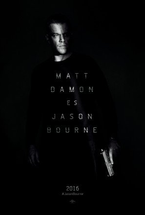 Jason Bourne – Matt Damon – Spanish Movie Wall Poster Print - 43cm x 61cm / 17 Inches x 24 Inches A2