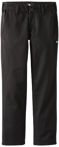 DC Chaussures Worker Pantalon pour Homme par Garçon Pantalon pour Femme 16 Ans Noir