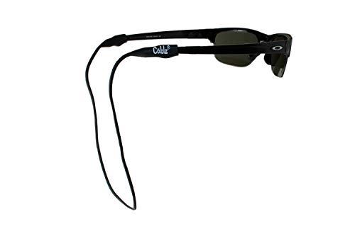 Cablz Silicone Eyewear Retainer | Waterproof Eyewear Retainer, 16 in (Black)