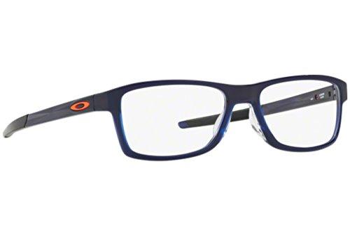 Oakley Herren Chamfer Mnp (52 Mm) Brillengestelle, Blau, Einheitsgröße