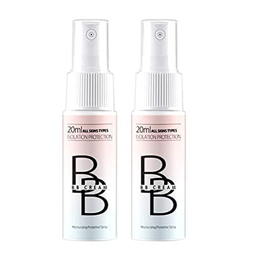 Concealer Make-up Spray BB Creme Mattöl Control Whitening Wasserdicht Schweißfest Langlebige Aufhellung Aufhellen Hautton, Augensäcke mit voller Abdeckung, Augenringe,...