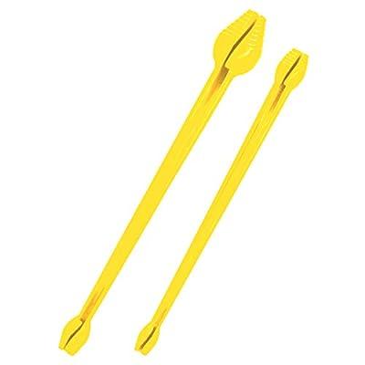 SAMSFX Fishing Hook Disgorger Snelled Fishhook Dehooker Hook Remover Tool 2PCS in Pack (Yellow, 2PCS)