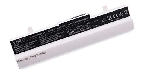 vhbw Akku für Asus Eee PC 1001/1005 / 1101 / R101 / R150 - Serie wie 1005P, 1005HA, R101D, R105D, 1001PXD Notebook Laptop - (Li-Ion, 4400mAh, 10.8V)