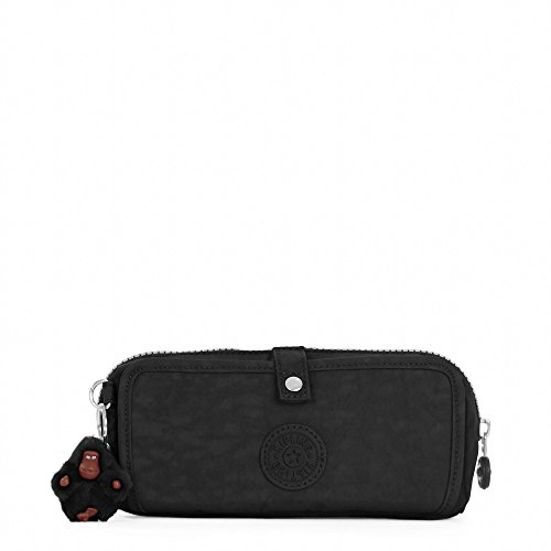 Kipling Wolfe Pencil Pouch Black