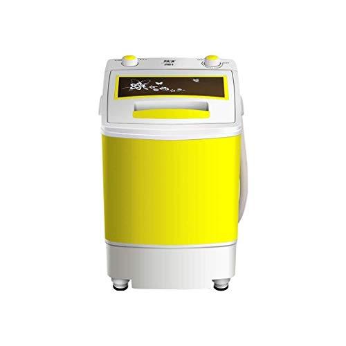 Lavadoras de ropa Lavadora Mini máquina de Lavado de la Lavadora portátil de Carga Superior semiautomático Cesta Desmontable Lavadora deshidratación Infantil
