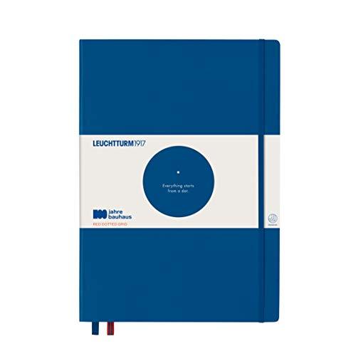 LEUCHTTURM1917 359866 Notizbuch Master (A4+), Hardcover, 233 nummerierte Seiten, königsblau,...