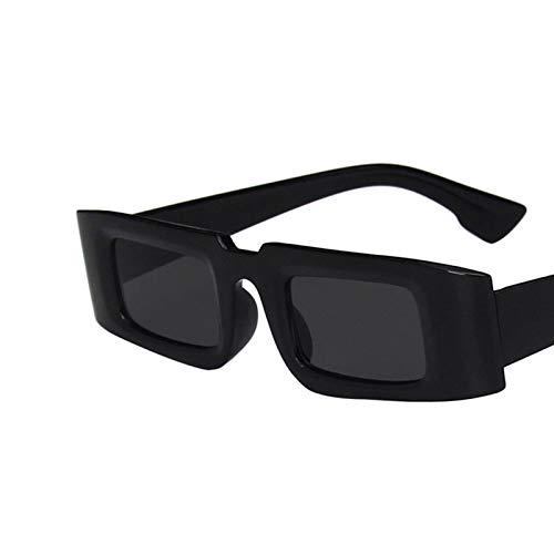 ShSnnwrl Gafas De Moda Gafas De Sol Gafas De Sol Cuadradas De Moda para Hombres Y Mujeres Gafas De Sol De Conducción Retro Clásico Uv400 C1Fullblack
