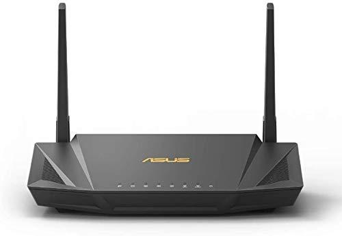 ASUS WiFi 無線 ルーター WiFi6 1201+574Mbps デュアルバンド RT-AX56U 【 メッシュ機能付 】【3階建 / 4LDK 】【PS5/Nintendo Switch/iPhone/android 対応】