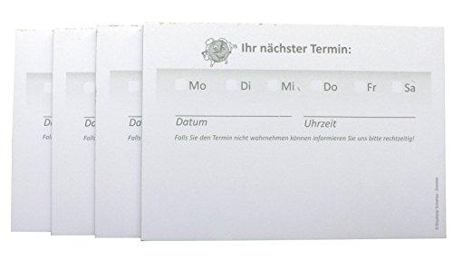 10 x Terminblöcke Terminblock Nr.8 -Terminzettel Termine - Praxis Studio Ärzte Frisör, Maniküre (22684_96N)