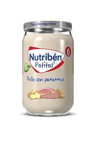 Nutribén Potitos de Pollo con Patatitas, Desde Los 6 Meses, 235g