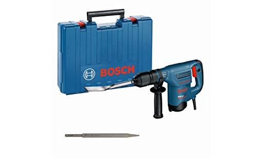Bosch Professional Schlaghammer GSH 3 E (inkl. Fliesenmeißel, Spitzmeißel, Zusatzhandgriff, im Koffer)