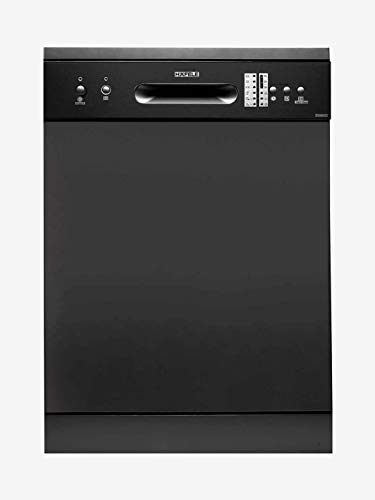 Hafele Aqua 14XL, 14 Place Settings Stainless Steel Freestanding Dishwasher, Silver INOX