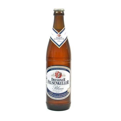 Dresdner Felsenkeller Pilsner (0,5 l / 4,8% vol.)