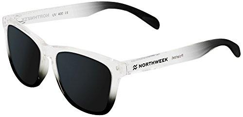 NORTHWEEK Gradiant Gafas de sol, Plateado, 52 Unisex