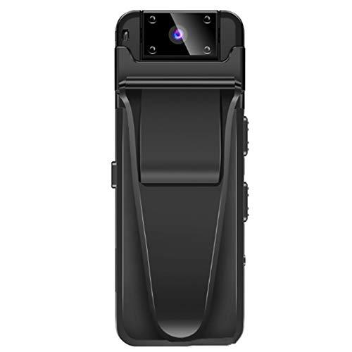 Cuasting Cuerpo llevado cámara WiFi HD DVR grabadora de vídeo Cámara de seguridad 180 grados visión nocturna detección de movimiento videocámaras A8Z