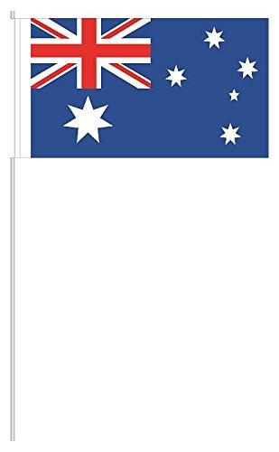 partydiscount24 10 x Papierfähnchen Australien