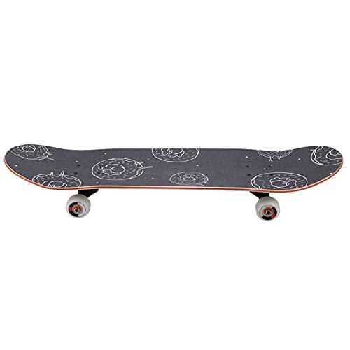 Patineta, patineta de Arce de Doble inclinación de Cuatro Ruedas de Alta tenacidad para Principiantes, Adolescentes y Adultos