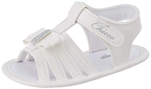 Chicco Mädchen Sandalo Noelle Sandalen, Weiß (Bianco 300), 19 EU