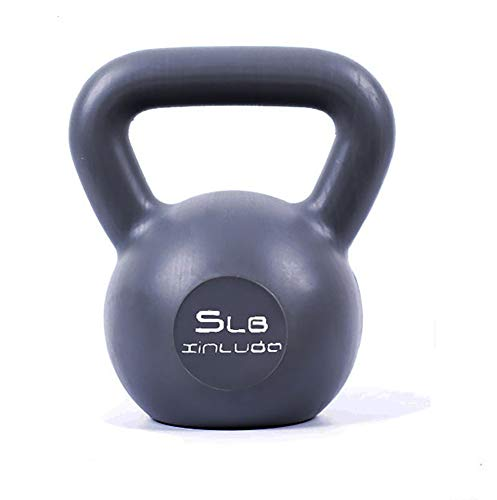 Yajun Sport Kettlebell Kugelhantel Gewichtheben Ball für Fitnessgeräte Hanteln Übungsstärke und Cardio Trainingsgeräte für Yoga Workout Gym,5LB