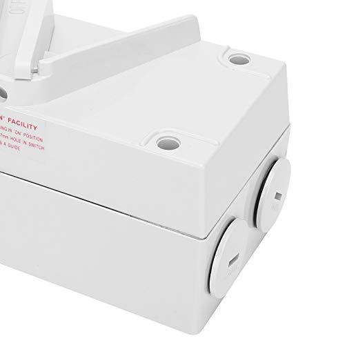PA66 Interruptor Flameresistant para el espacio al aire libre (CF-1P63A, rosa)