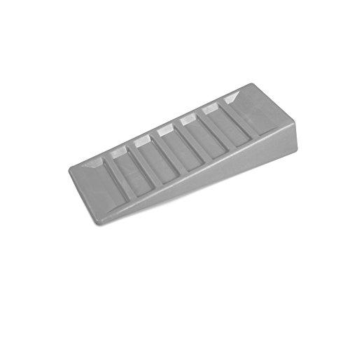 2er Set Auffahrkeile aus robustem Kunststoff ideal für Reisemobile Wohnmobil Keil Standkeil Ausgleichskeil Wohnwagen Unterlegkeil Set