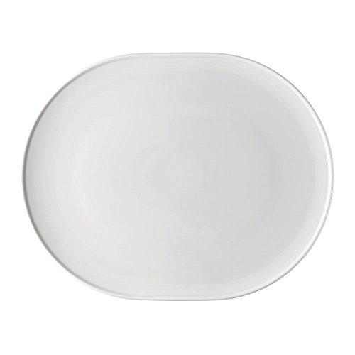 Thomas 11965 10430–800001–12733 ONO, Assiette, Porcelaine, Blanc, 33 x 26 cm