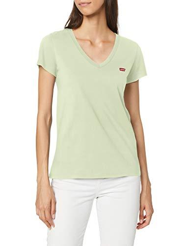 Levi's Vneck Camiseta, Bok Choy, M para Mujer