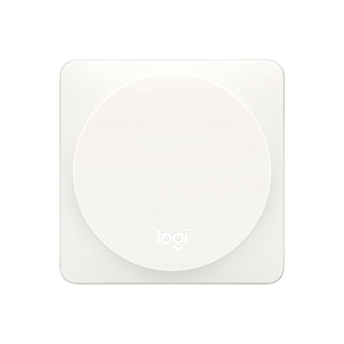 Logitech POP Smart Button Kit, Schalter für Smart Home Geräte, Ersetzt bis zu 3 anpassbare Befehle, Für Apple HomeKit-fähige Geräte und Logitech Harmony Fernbedienungen - weiß