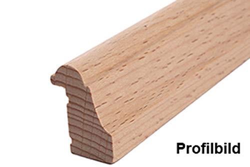 Ross Falzleiste Massivholz 20 x 27 mm Buche roh 10 Meter