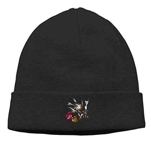 Others Black One Punch Man Watch Cap Adult Unisex Knit Winter Warmth Beanie Hat