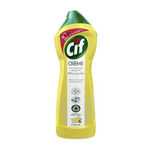 CIF Crème À Récurer Nettoyant Multi Surfaces Citron 750ml
