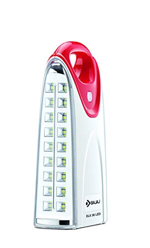 Bajaj Plastic Emergency Light, Red