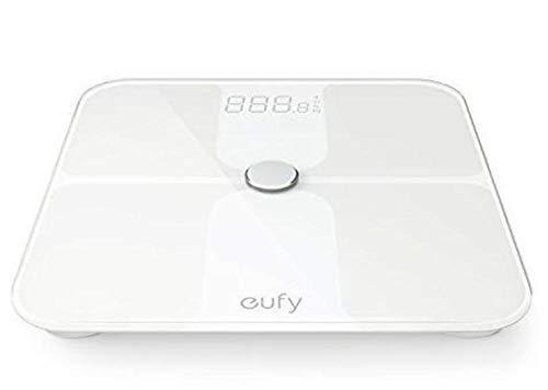 Eufy BodySense Bascula Bluetooth 4.1, bascula baño Grasa Corporal, con Pantalla LED Grande, Peso/Grasa Corporal/BMI/Fitness Body (analisis Corporal)