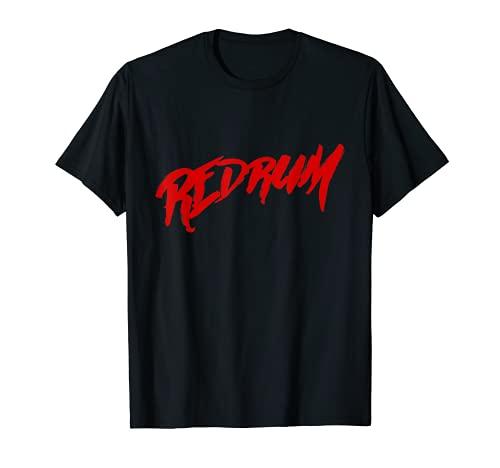 Redrum Pelcula de Terror Camiseta